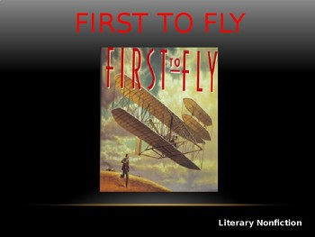 Journeys Common Core 6th Grade Reading Unit 5 Story 2 First to Fly