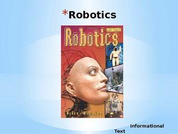 Journeys Common Core 6th Grade Reading Unit 5 Story 5 Robotics