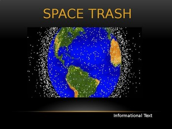Journeys Common Core 6th Grade Reading Unit 6 Story 1 Space Trash