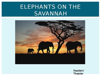 Journeys Common Core 6th Grade Reading Unit 6 Story 4 Elephants on the Savannah