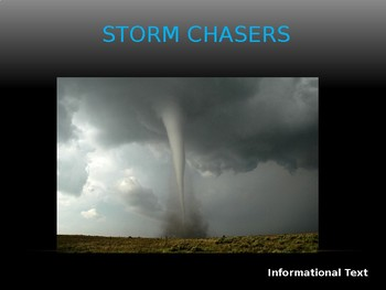 Journeys Common Core 6th Grade Reading Unit 6 Story 5 Storm Chasers