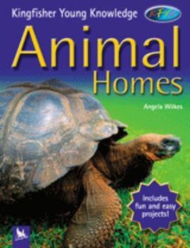 Journey's Common Core: Animal Homes FlipChart