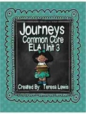 Journeys Common Core ELA Unit 3
