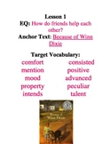 Journeys Common Core - Fourth Grade Word Wall Bundle