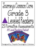 Journeys Common Core Grade 3 Leveled Readers - At Level