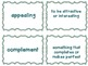 Journeys Common Core: Grade 6: Unit 1: Lesson 3 Vocabulary