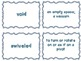 Journeys Common Core: Grade 6: Unit 1: Lesson 4 Vocabulary Match Game