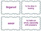 Journeys Common Core: Grade 6: Unit 2: Lesson 6 Vocabulary Match Game