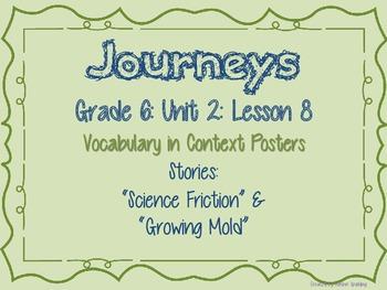 Journeys Common Core: Grade 6: Unit 2: Lesson 8 Vocabulary