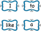 Journeys Common Core High Frequency Words