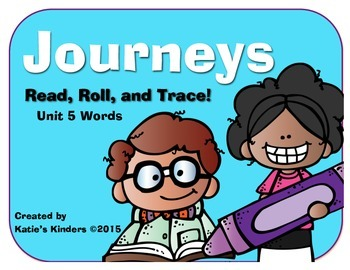 Journeys Common Core Kdg. High Freq. Word (Unit 5) Roll, R