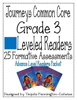Journeys Common Core Leveled Readers - Advance - Grade 3