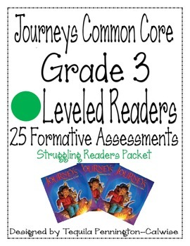 Journeys Common Core Leveled Readers, Struggling Readers, Grade 3