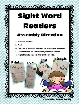 Journeys ~ Common Core ~ Sight Word Readers ~ Units 1, 2, & 3