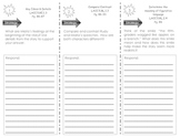 Journeys Common Core Trifold for Unit 1.3 - Off and Runnin