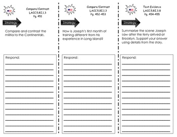 Journeys Common Core Trifold for Unit 3.15 - We Were There