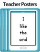 Journeys 2014 Kindergarten Common Core Unit 1 High Frequency - Sight Words