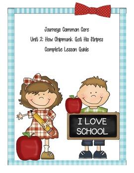 Journeys Common Core Unit 2 Lesson 4: How Chipmunk Got His Stripes