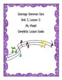 Journeys Common Core Unit 3, Lesson 2: Ah, Music!