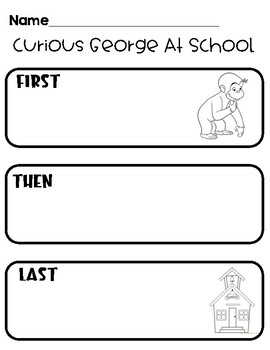 Journeys- Curious George at School BME