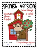 Journeys® Curious George at School *SPANISH* Literacy Activities- Grade 1
