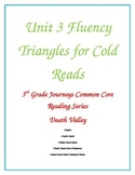 Journeys Curriculum Cold Read Unit 3 Fluency Practice