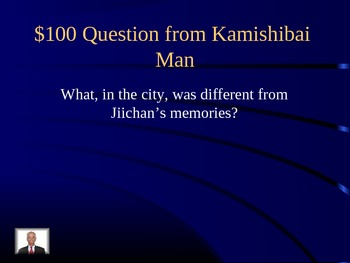 Journeys Curriculum Jeopardy Lesson 9 Kamishibai Man