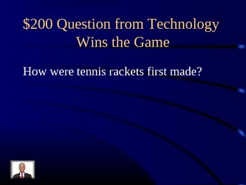 Journeys Curriculum Lesson 11 Technology Wins the Game Jeopardy