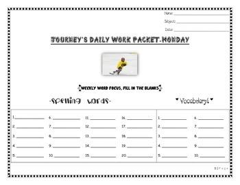 Journey's Daily Language