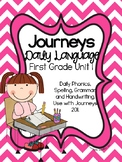 Journeys Daily Language 1st Grade Unit 1