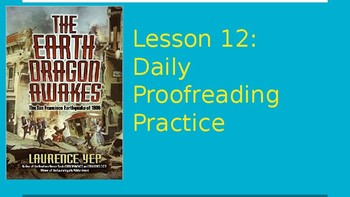 Journeys Daily Proofreading Practice  Lesson 12 4th Grade