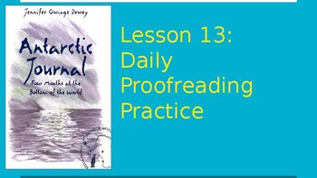 Journeys Daily Proofreading Practice  Lesson 13 4th Grade