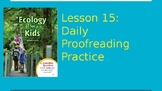 Journeys Daily Proofreading Practice  Lesson 15 4th Grade