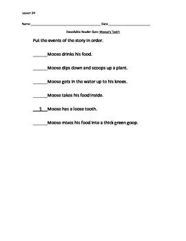 Journeys Decodable Reader Quiz Lesson 24
