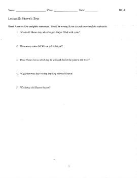Journeys Decodable Reader Quizzes Unit 5 (First Grade)