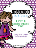 Journeys Diary of a Spider Grade 2 {Editable}