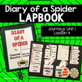 Journeys Diary of a Spider | Diary of a Spider 2nd Grade Lapbook