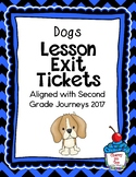 Journeys- Dogs Exit Tickets