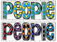 Journeys Spelling and High Frequency Words - Dot Art  Complete Set (First Grade)
