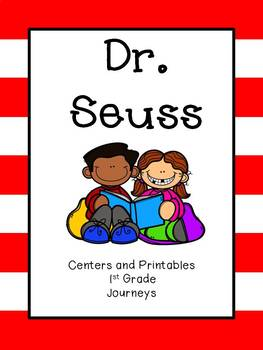 Journeys, Dr. Seuss, Centers and Printables, Unit 2 Week 4