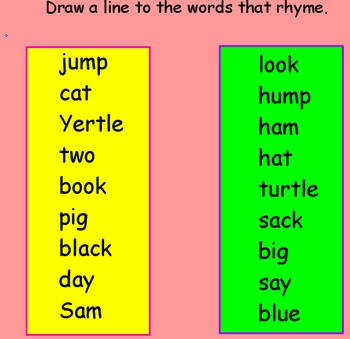 Dr. Seuss Promethean Board Flipchart- Journeys 1st Grade-Short e/rhyming