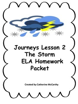 Journeys ELA Lesson 2 Grade 1