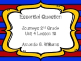 Journeys Essential Question Unit 4 Lesson 20 Opinion Writi