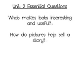 Journeys Essential Questions, Grade 3 Unit 2