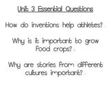 Journeys Essential Questions, Grade 3 Unit 3