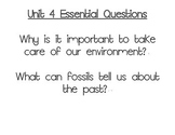 Journeys Essential Questions, Grade 3 Unit 4