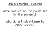 Journeys Essential Questions, Grade 3 Unit 5