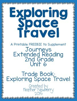 Journeys: Exploring Space Travel (Unit 6, Extended Reading)