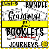 Journeys FIRST Grade  Grammar Mini Books: The BUNDLE