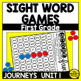 Journeys FIRST Grade SCORE Four:  Unit ONE